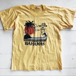 vintage it's better in the bahamas tshirt